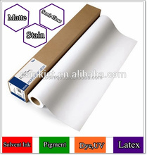 High Quality Latex Canvas coated Matte for digital printing in Roll Indoor/outdoor use
