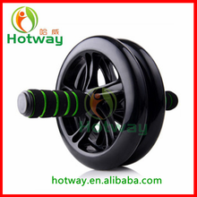 Hot sale Core Workout Home Gym Fitness Abdominal Exercise Wheel Dual Wheels for Great Stability Perfect AB Wheel Roller