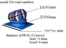 Turbo Wind Powered Fan Ventilation Roof Fan