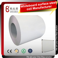 Precoated steel sheet metal magnetic board