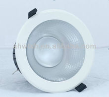 Factory Unique Design Meanwell Power Warm White 80W LED Downlight 10inch 2700K LED COB light