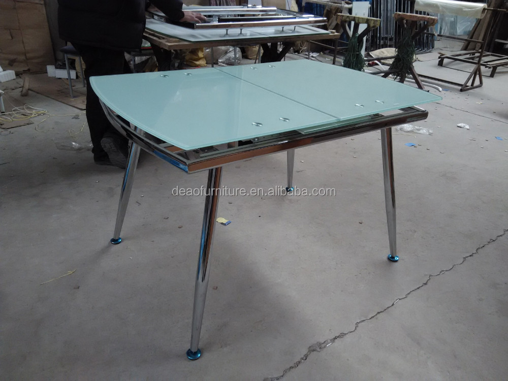 Modern Extending Metal Tempered Glass Dining Table Buy  : Modern extending metal tempered glass dining table from alibaba.com size 1000 x 750 jpeg 151kB
