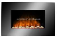 1500w wall mounted decorative Cheap electric fireplace