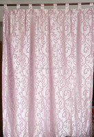 2015 new design jacquard curtain, grommet top/loop top/rod pocket ready made window curtain panel, china curtain manufacturer
