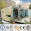 Well Wooden Decorated Flat Pack Mobile Homes Made in China