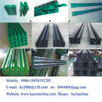 uhmwpe colored slide plastic channel strip manufacturer