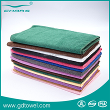 Strong water absorbent microfiber dry hair towels use for hairdressing centre