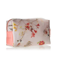 Botanical Bloom Beauty Case Cosmetic
