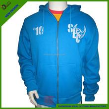 65%cotton,35%polyester customYKK zipper-up hoodies&sweatshirts