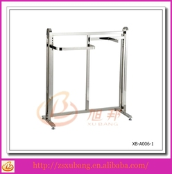 clothing shops display stands, retail store wood display stand, display stand