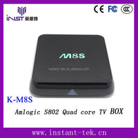 Amlogic S802 Quad core Android 4.2 wholesale android smart tv set top box