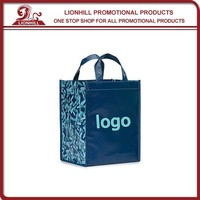 Hot Sales PP Non-Woven Folding Promotional Shopping Bags
