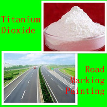 High opacity and whiteness TiO2/high durability rutile/titanium dioxide for road marking paints