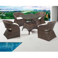 porch/courtyard furniture rattan coffee set