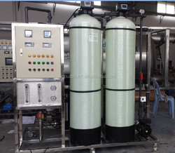 2T/H RO water purification mineral water plant cost