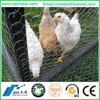 Galvanized/pvc coated hexagonal wire netting gabion mesh/ stone cage