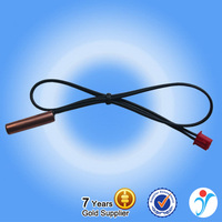 2015 Hot Sale High Stability Black Parallel Lines Copper 10K NTC Temperature Sensor
