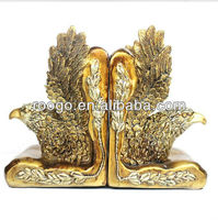Resin eagle figurine book end