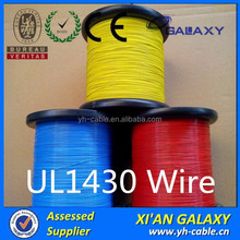 PVC Insulation UL1430 Hook up Wire 16awg 18awg 20awg 22awg 24awg 26awg 28awg 30awg