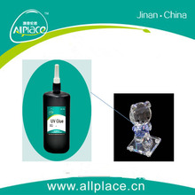 High curing speed factory price transparence glass uv glue