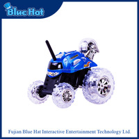 Popular excellent quality stunt 360 degrees remote control toy car