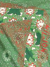 Bloque africano imprimió la tela de algodón, 100% algodón étnico Vintage impreso de la tela