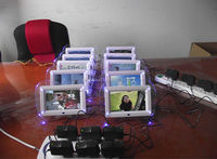 """7"""" acrylic digital photo frame with random play,2014 hot video mp3 picture frame"""