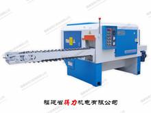 Horizontal 535-C type round log multi rip saw machine