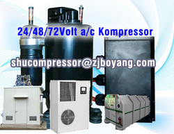 HVAC for High sensible Cooling Fixed Telephone Exchanges mobile telecom tower cabins compresspr