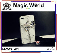 bowknot funky cheap mobile phone case for iphone 4s
