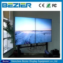LG 42 inch small bezel led tv ultra slim bezel lcd tv walls 20mm interactive with led backlight advertising