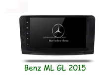 For Mercedes Benz ML GL W164 (2005-2012) 9inch Mirror Link 3G Wifi USB Radio GPS Android 4.4 Car Mp3 Player