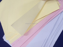 Beuty High Quanlity Colorful NCR no carbon required paper copy paper made in china