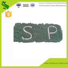 Light green or dark green color Chrome Oxide powder raw material for ceramic glaze
