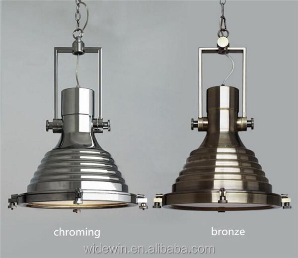 Populaire hanger verlichting zwart  chrome  brons vintage industri u00eble lampen kroonluchters en     -> Lampadari Moderni Color Bronzo
