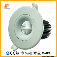 20w 25w 30w dimmable cob led downlight 8 inch recessed led down light