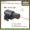 True Adventure TC-015 J015 Hunting Alminum Alloy 21mm Rail Mini Red Laser Sight with Tail Switch Laser Sight for Rifle