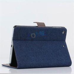Fashion Stitching Style Leather Case For Ipad Mini 2 Shenzhen Factory Leather Case