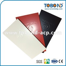 TOBOND Ping-pong table/High Quality metal composite Panel/dibond Building material/pvdf Acp Manufacturer/Wall Cladding