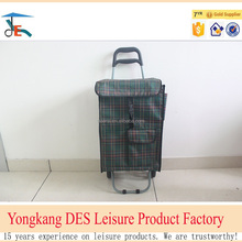 Cheap portable folding shopping cart from Chinese factory