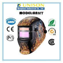 CE welding helmet decals