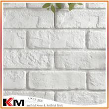 White Decorative Wall Brick Artificial Brick