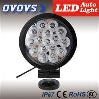 Ovovs Newest 7Inch 80w 12 volt automotive led lights For Offroad Truck