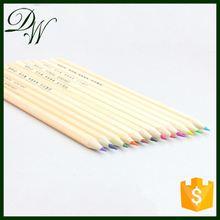 Hot Sales 12 Color wooden color pencil pencil manufacturer, pencil pen 2015