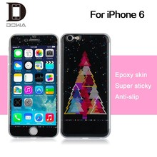 New epoxy skin for iPhone 6 gel stickers , factory supply directly PU epoxy