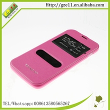 PU leather PC free sample phone case for Tecno R7