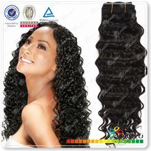 2014 new arrivals top grade deep wave short hair brazilian weave