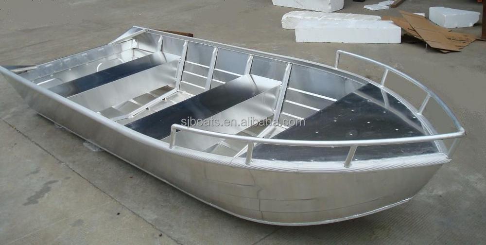SANJ cheap large Aluminium Boat designs With deep V-hull ...