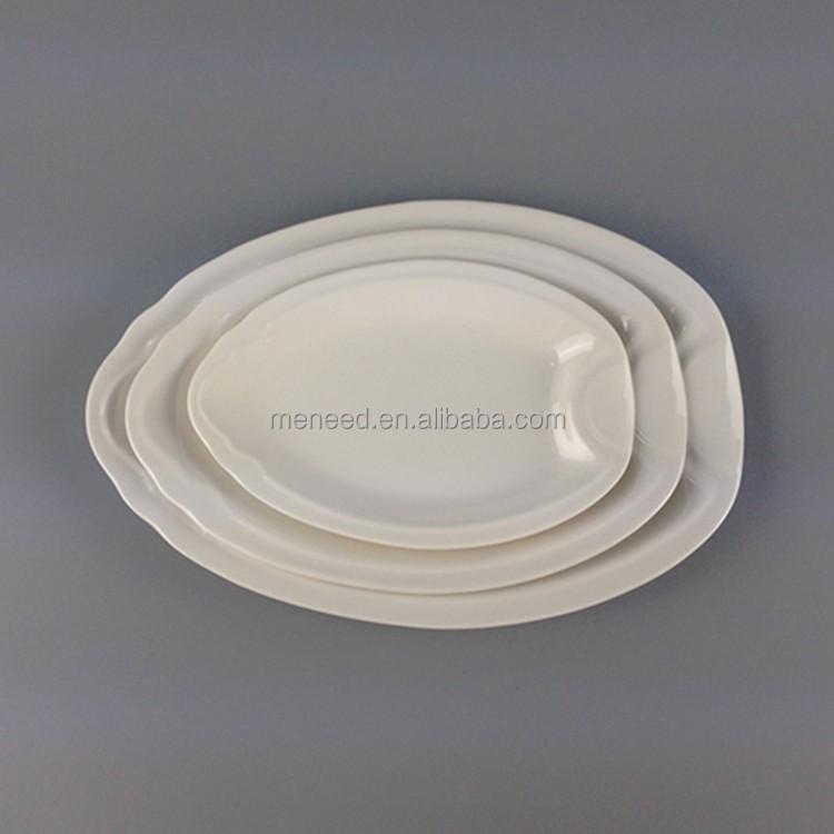 Melamine Wholesale Used Household Items Bulk Cheap White Dinner Plates For Re