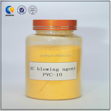 ac chemical blowing agent for flexible PU foams low densities thermoplastic foams